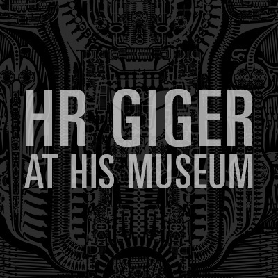 HR GIGER AT HIS MUSEUM